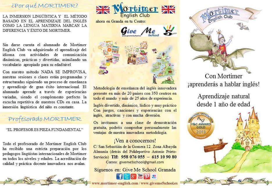 Mortimer English llega a Granada