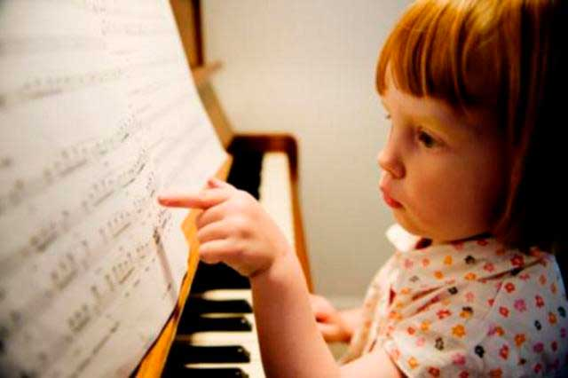 Niños-musica
