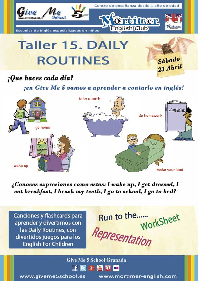 Taller 15. Daily Routines