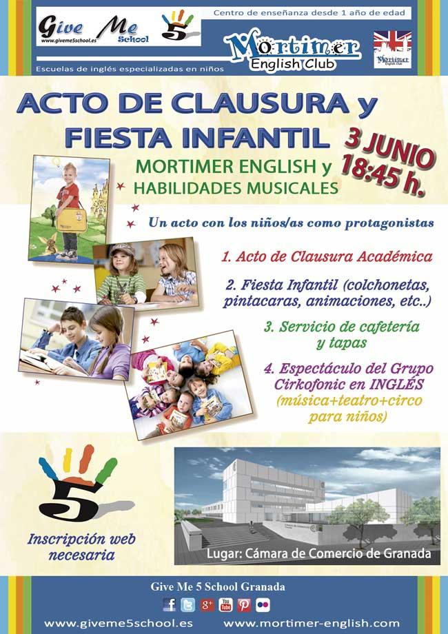 Acto Clausura 2016 Mortimer