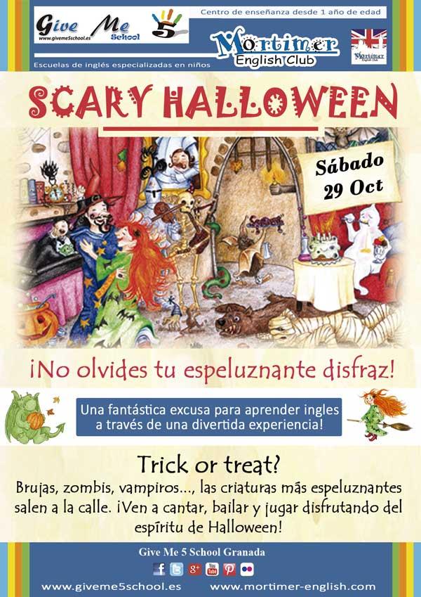 Taller 3. Scary Halloween