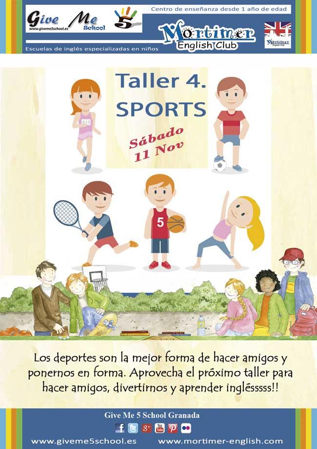 Taller 4. SPORTS (11 Nov)