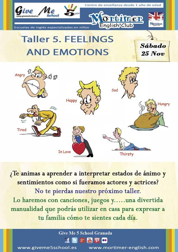 Taller-5. Feelings and Emotions (25 Nov)