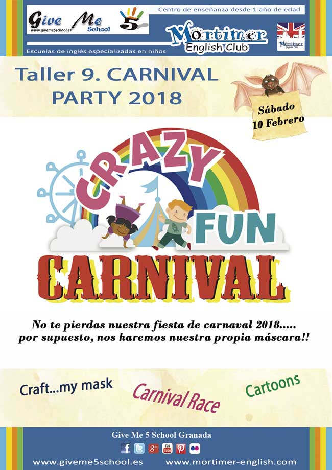 Taller 9. Carnival Party (10-Feb)