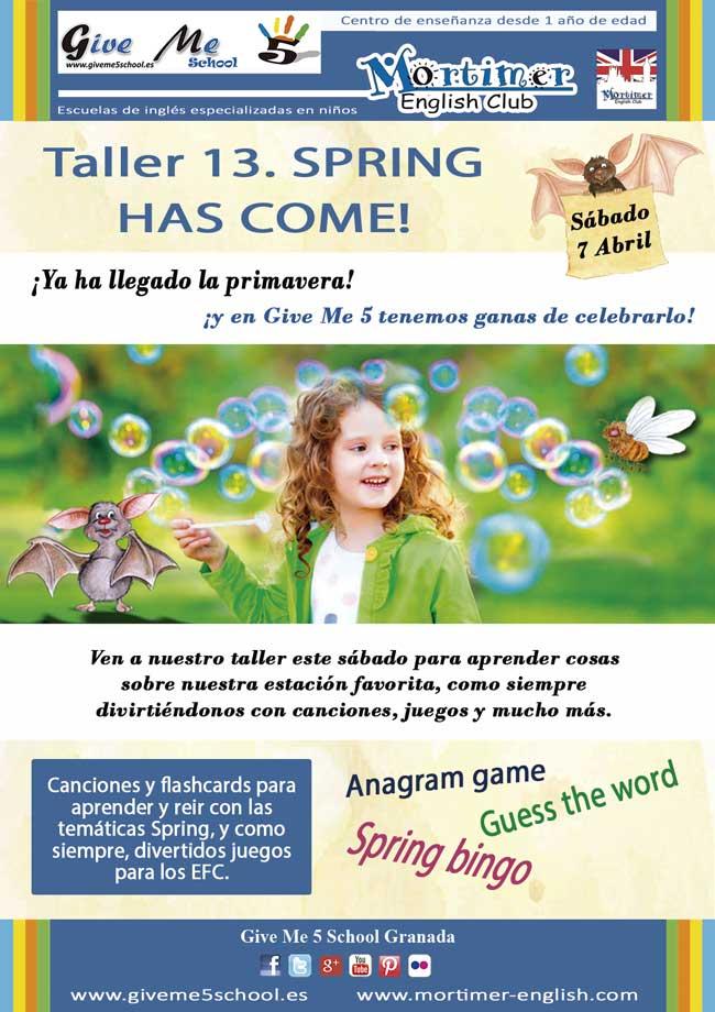 Taller-13. Spring has come