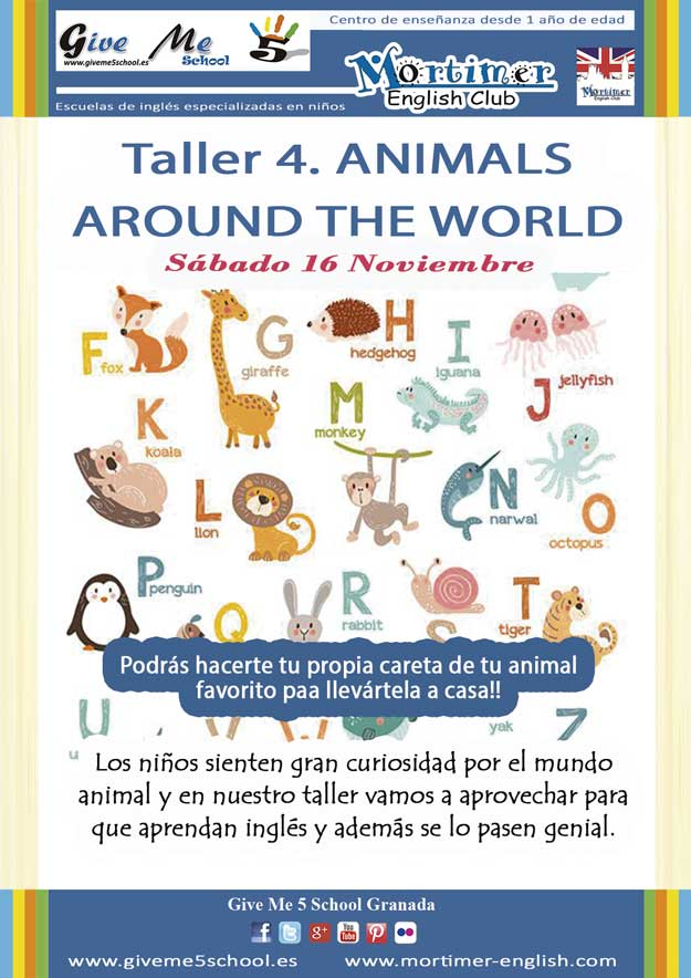 Taller-4. Animals around the world (16 Nov)